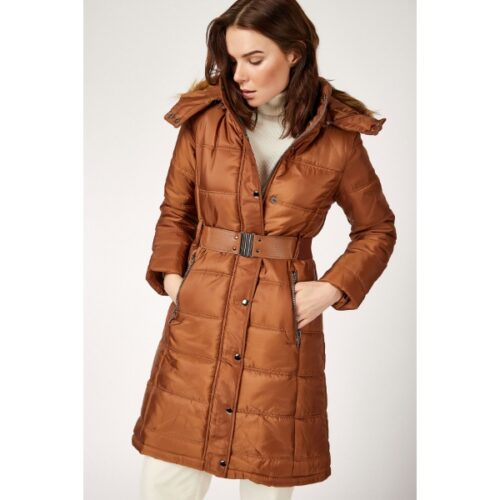Women's Belted Blown Coat