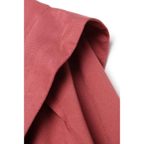 women's hidden button dark rose tunic