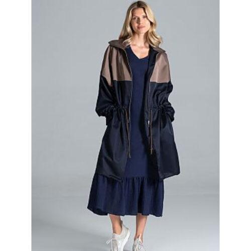 Women's Drawstring Coat
