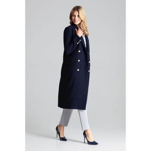 Women's Double Press Buttoned Coat