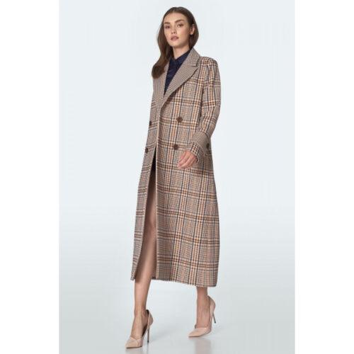 Women's Checkered Coat